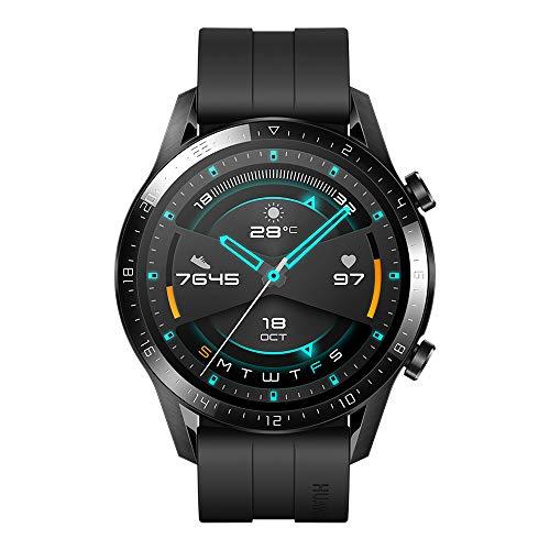 Huawei Watch GT 2 2019 Smartwatch Bluetooth, autonomie de 2 semaines, étanche, Compatible avec...